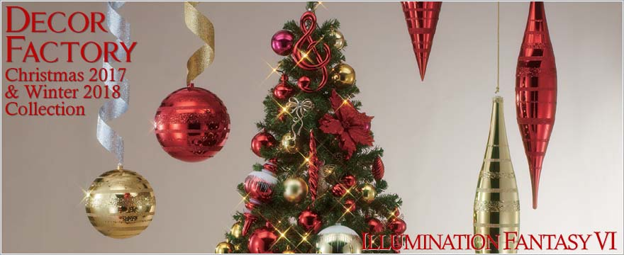 DECOR FACTORY Chrismas 2017 & Winter 2018 Collection